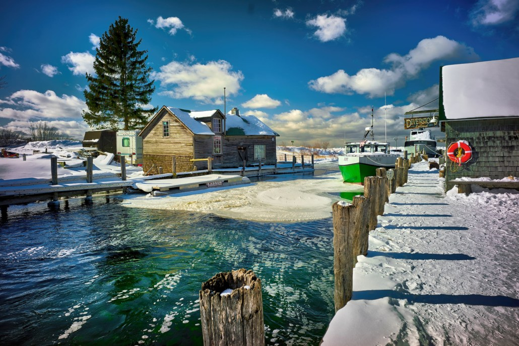 Fishtown Frozen by Mark Smith