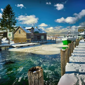 Fishtown Frozen by Mark Smith