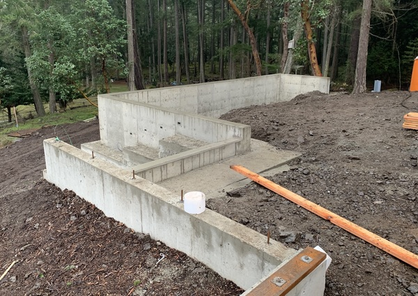 Our Driveway Retaining Wall