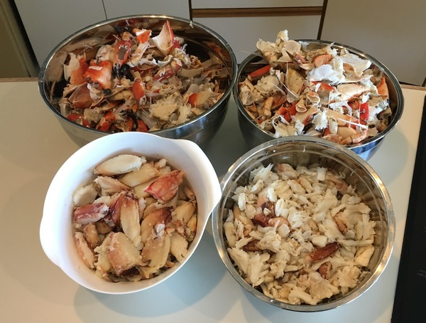 The results from multiple crab