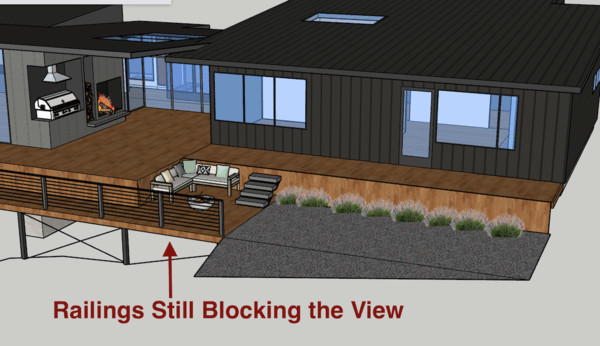 ailings and integrate the lower deck