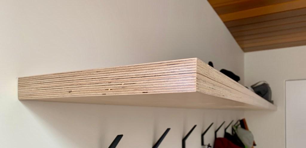 Flattop Birch Shelf
