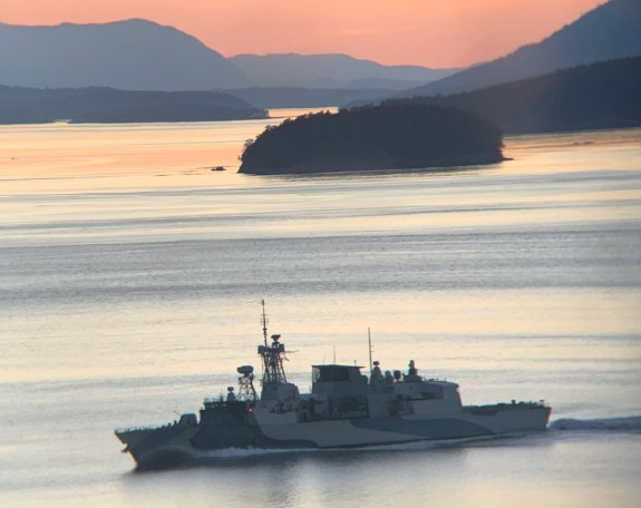 canadian battleship