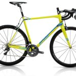 Cicli Elios Fibra Granfondo Carbon Road Bike – 22sp Ultegra – Black/Blue/Yellow