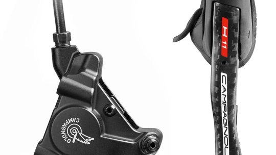 Campagnolo EPS H11 Hydraulic Ergos Road Disc Brakes + Calipers 2018