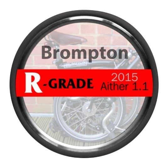 Tannus 16 x 1.25″ (+18″) Brompton Solid Airless Tyre + Free Fitting