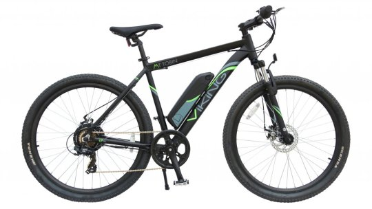 Viking MT Tobin 18″ 7sp 36v E-Bike 27.5″/650b Black