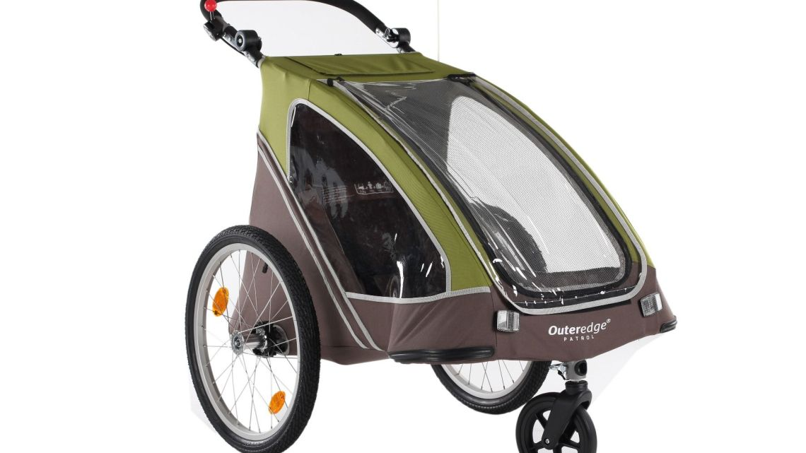 Outeredge Patrol Twin Stroller Trailer
