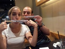 This is how crazy kosher sushi makes us.