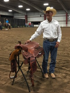 Lee Mancini 2018 MRHA Liberty Hi-Point Champion Saddler winner