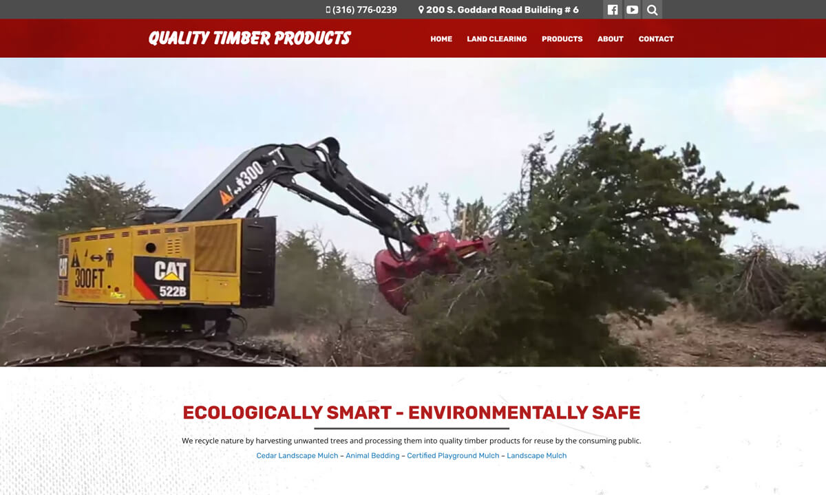 Quality Timber Products New Website