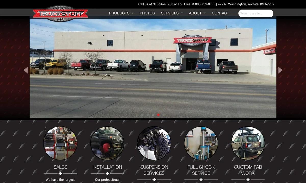 Truck Stuff - New Website