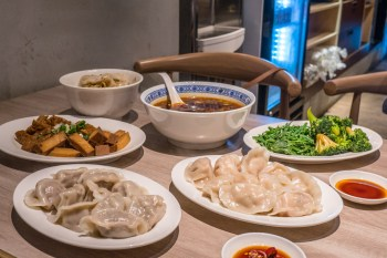 台北信義安和站-立祥公寓精緻麵食,牛肉麵,特色口味手工水餃,滷味專賣