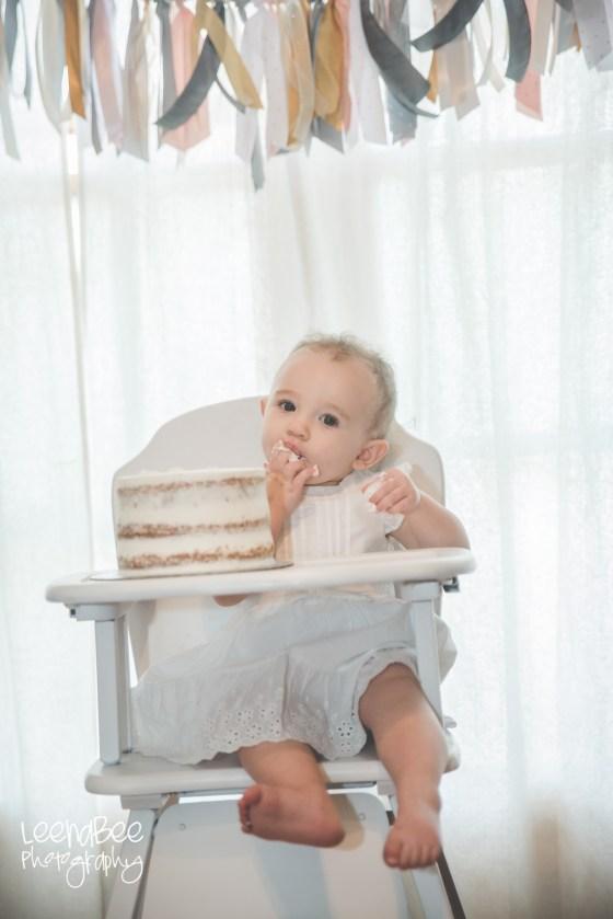 Boho First Birthday Cake Smash Dublin Ohio-6