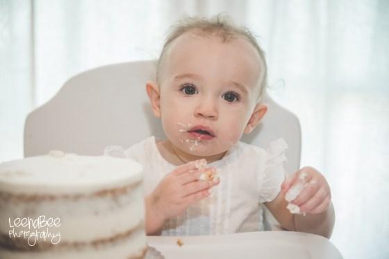 Boho First Birthday Cake Smash Dublin Ohio-8