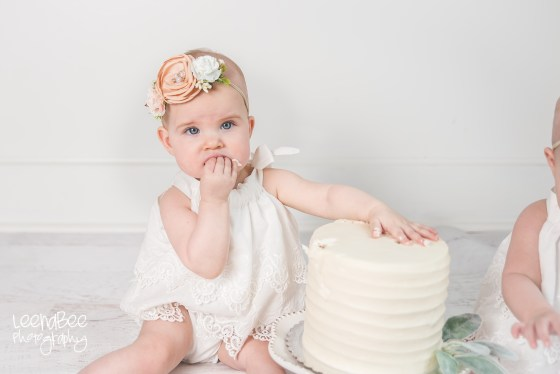 Dublin ohio first birthday cake smash photography-18