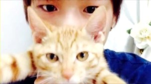 PRODUCE 101 _ Kang Daniel and his cats.mp4_000010010
