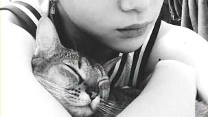 PRODUCE 101 _ Kang Daniel and his cats.mp4_000027093