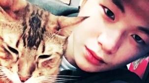 PRODUCE 101 _ Kang Daniel and his cats.mp4_000037170