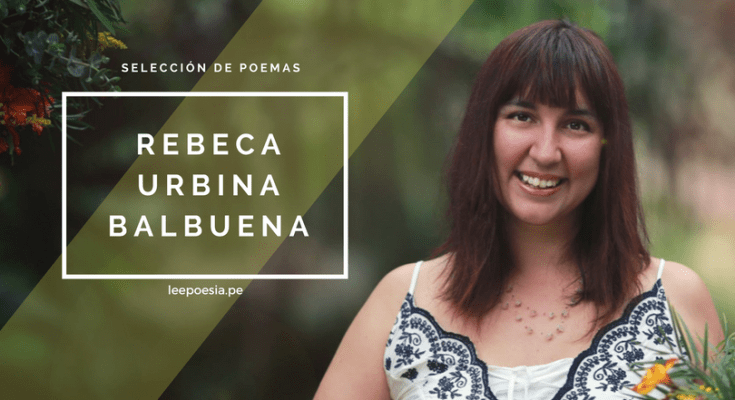 Poeta Rebeca Urbina Balbuena