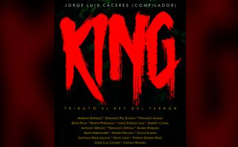 """""""King. Tributo al rey del terror"""": antología de cuentos hispanoamericanos en homenaje a Stephen King."""