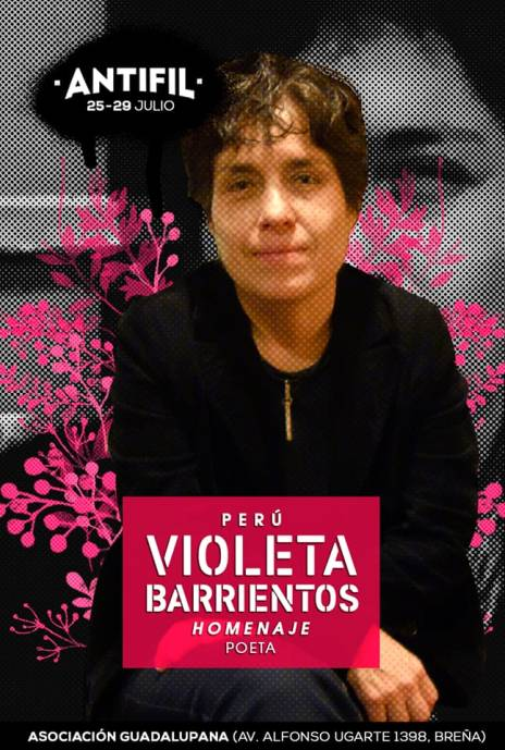 Violeta Barrientos en la AntiFil.