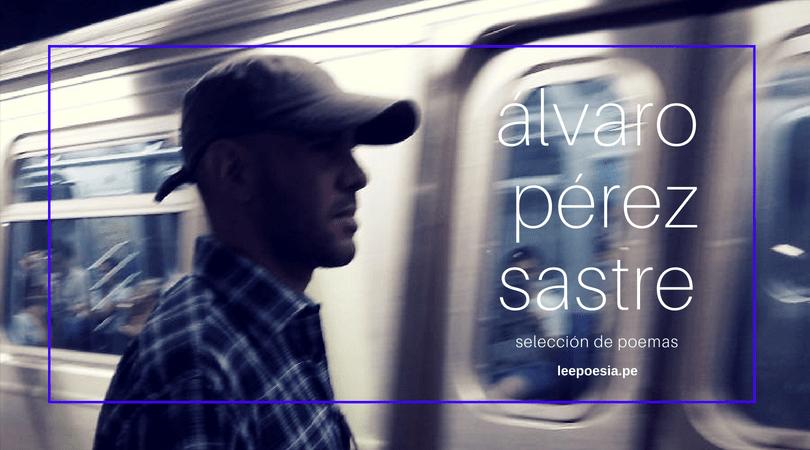 8 poemas de la 'Conciencia de la espera' de Álvaro Pérez Sastre
