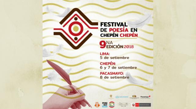 Festival de Poesía en Chepén Chepén vuelve del 5 al 8 de setiembre