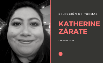 Poemas de Katherine Zárate