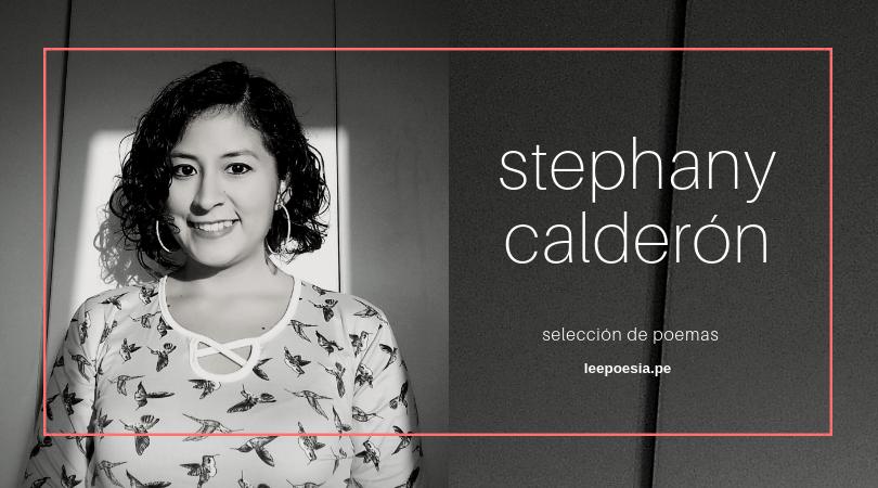 """""""La noche, el silencio"""", """"Aerosoles del caos"""" y otros poemas de Stephany Calderón"""