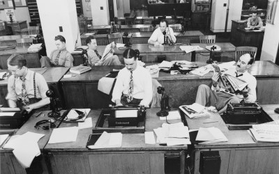 How the originators of the internet imagined digital journalism