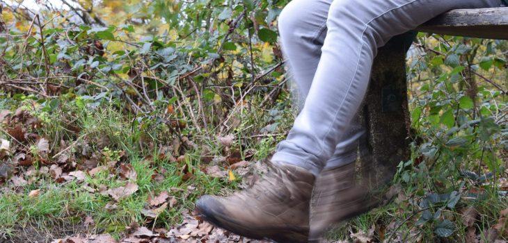 voeten van de grond