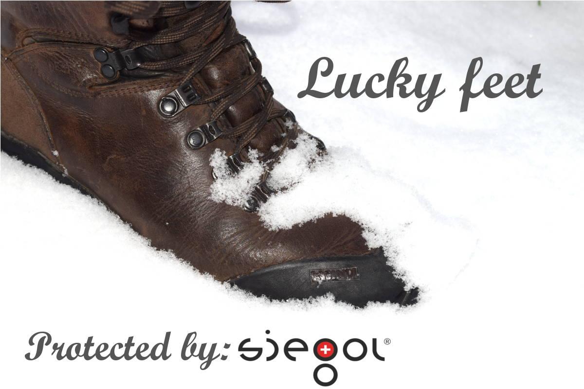 Lucky feet, siegol