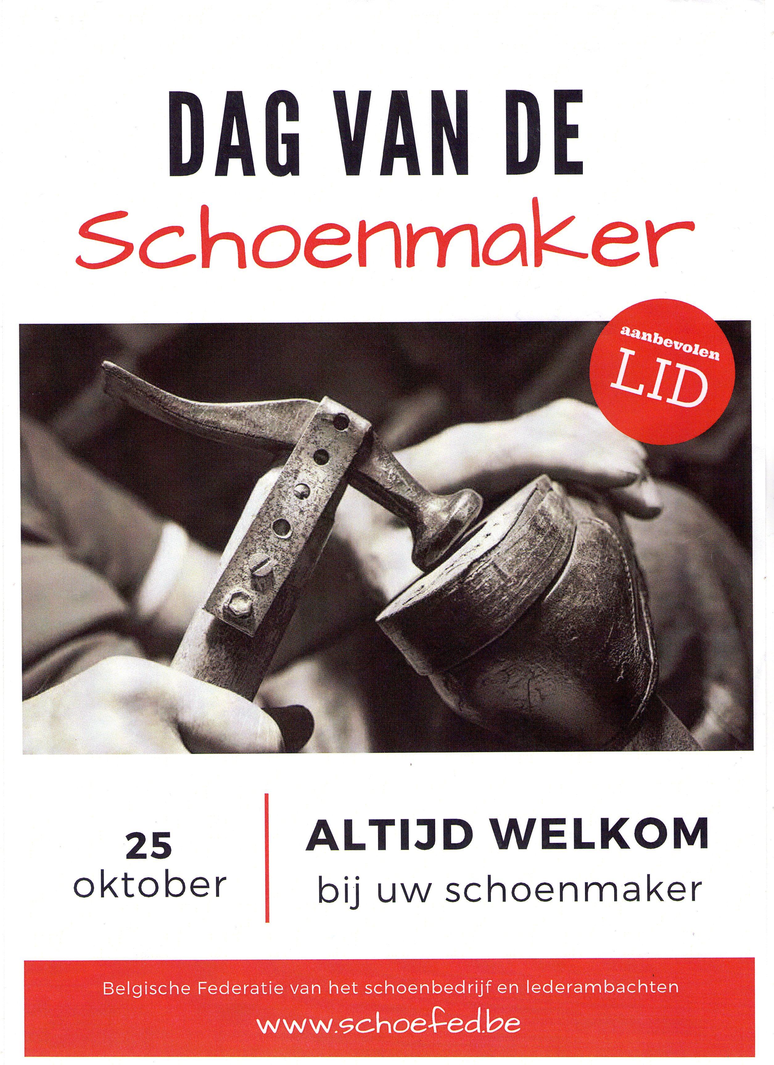 dag van de schoenmaker