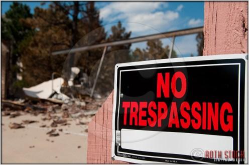 Mountain Shadows: No Trespassing