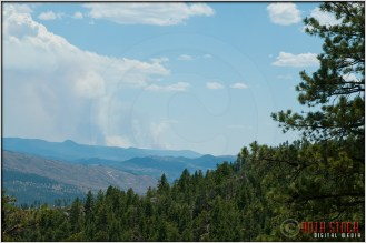 6.26.12 - 12:55pm - Waldo Canyon Fire: View From Deckers