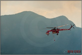 3:40:38pm - Waldo Canyon Fire: Sikorsky S-64 Firefighting Helicopter