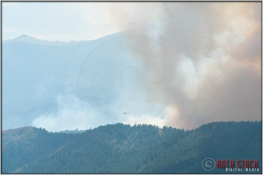 3:47:35pm - Waldo Canyon Fire: Firefighting Helicopters
