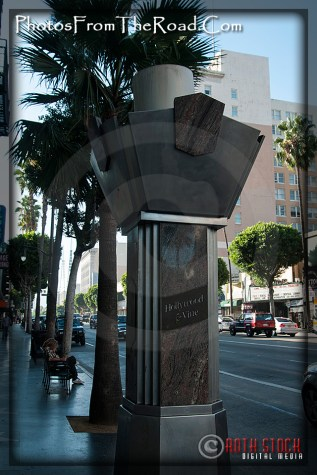 Corner of Hollywood and Vine