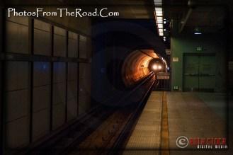 LA Metro Rail Hollywood & Highland Station
