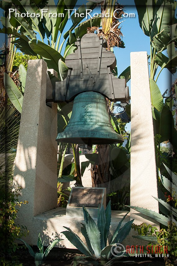 Atmosphere of Olvera Street - Bell of Dolores