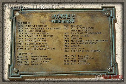 Stage 8 at 20th Century Fox Studios