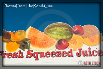 Fresh Squeezed Juice at the Venice Beach Boardwalk