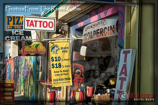 Shops at the Venice Beach Boardwalk