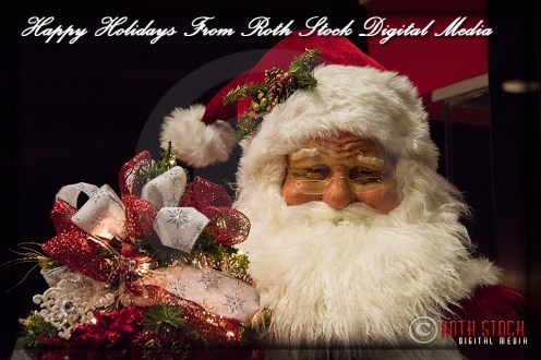 Shopping Mall Santa Claus