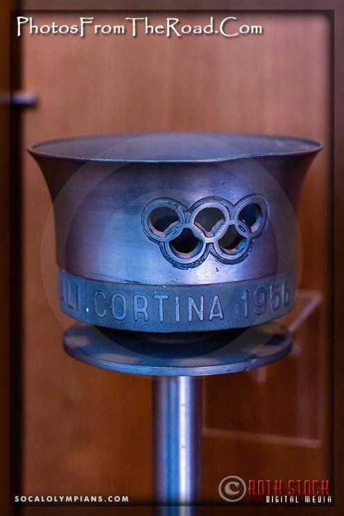 Torch: VII Winter Games - Cortina d'Ampezzo, Italy 1956