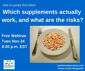 Which supplements work and what are the risks