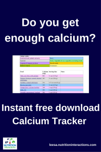 Do you get enough calcium