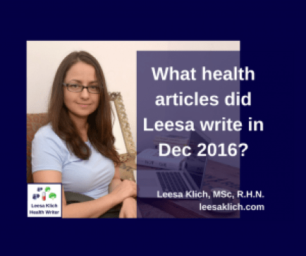 health articles december 2016