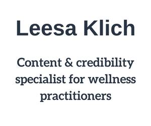 Leesa Klich logo tiny